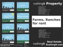 Farms, Ranches for rent - Rushingit.com